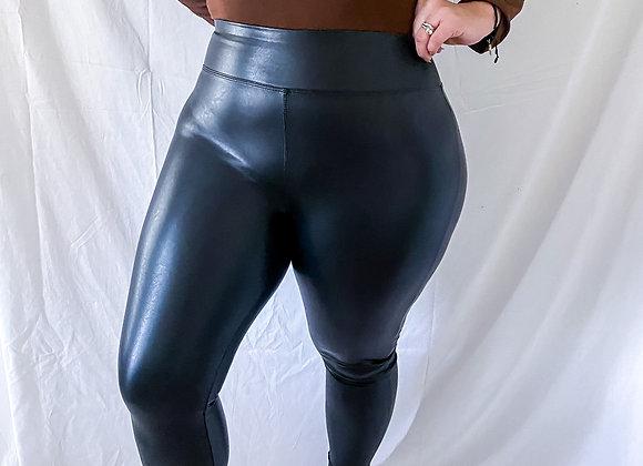 Silvia Pleather Pants