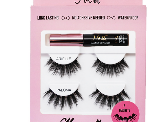 JLash Magentic Lashes- Arielle & Paloma