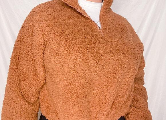 Adella Sherpa Sweater