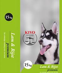 Kivo Petfood Lam Rijst hondenbrokken
