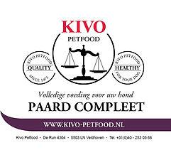 Kivo Petfood Verse vlees maaltijd Paard