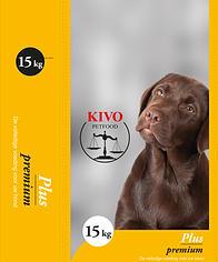 Kivo Petfood Plus hondenbrokken
