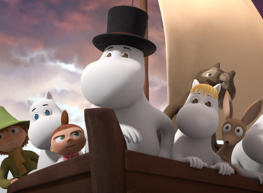 MOOMINVALLEY WINS  'BEST ANIMATED KIDS PROGRAMME'  AT CONTENT INNOVATION AWARDS