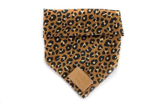 Pablo and Co Dog Bandana - Leopard, Size Medium