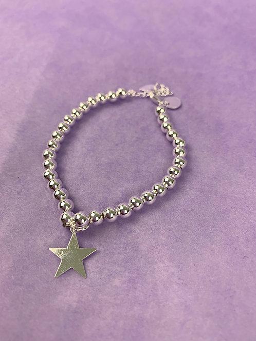 Star Braclet Sterling Silver
