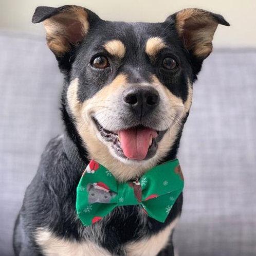 Dog Bow Tie - Dog Christmas
