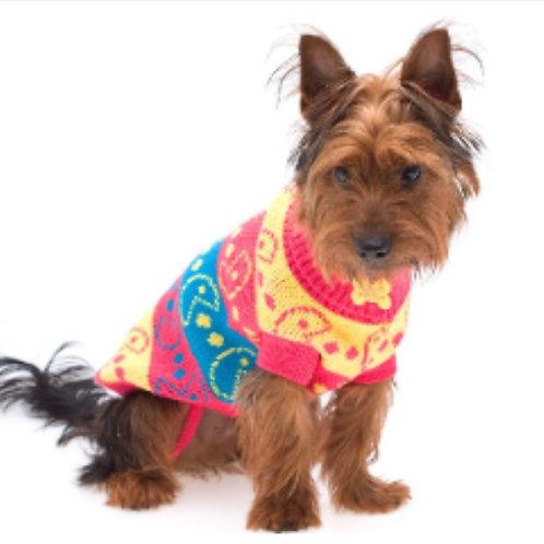 Dog Coat Pacman Design