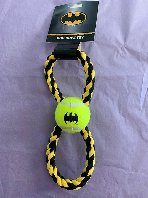 Batman Rope Toy With Tennis Ball