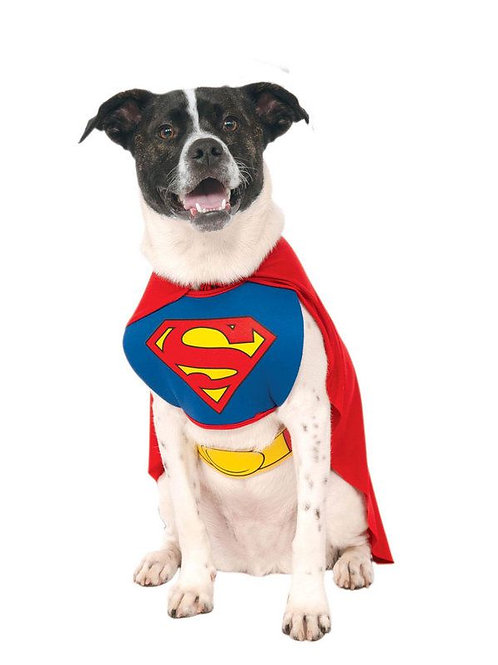 Superman Vest Dog Costume