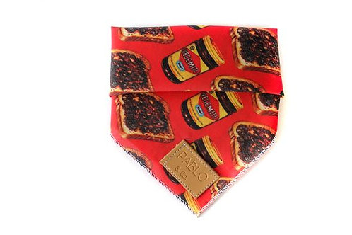 Pablo and Co Dog Bandana - Vegemite, Small