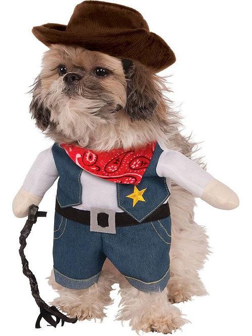 Walking Cowboy Dog Costume
