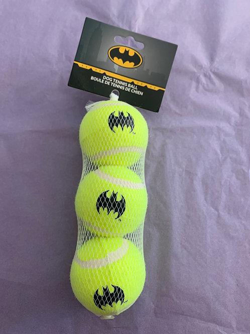 3pk Batman Tennis Balls