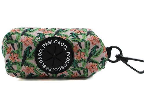 Poop Bag Holder - Blushing Parrots