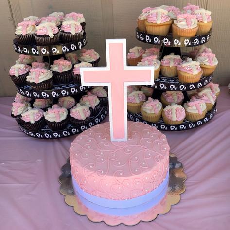 Elegant Pink Baptism