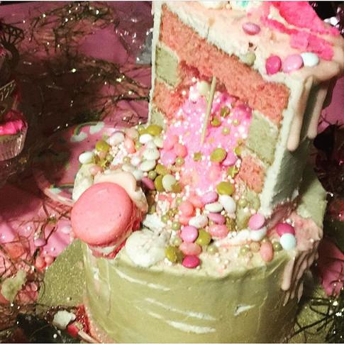 Pinata 30th Birthday Cake