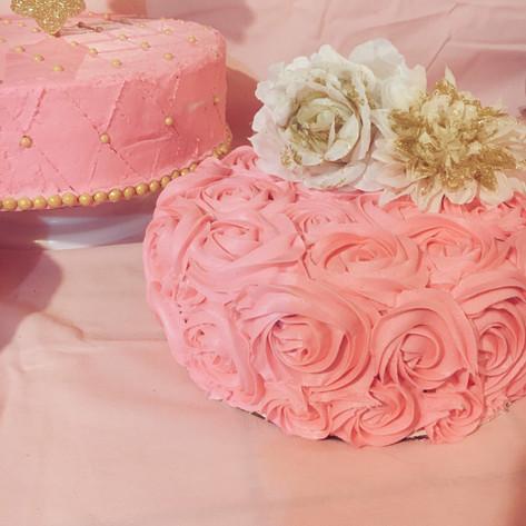 Pink & Rosette Baptism