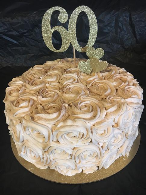 Rosette & Glitter 60th Birthday