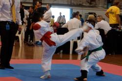 Jona head kick