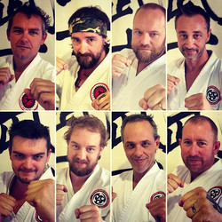 We have a great bunch of men training at our dojo. They push & challenge each other, they have a lau