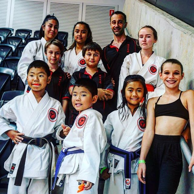 Cutting Edge Martial Arts Centre AMAC Australian Championships 2016 - dojo representatives #karateki