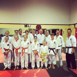 Second last class of 2017!! Last class this Saturday morning - we have some diehard students