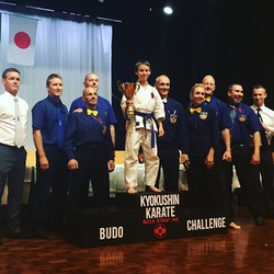 Please join me in congratulations BJ on his achievement today as the first overall Budo Champion 👊�
