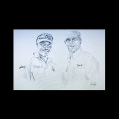 Sir Garry Sobers & Brian Lara