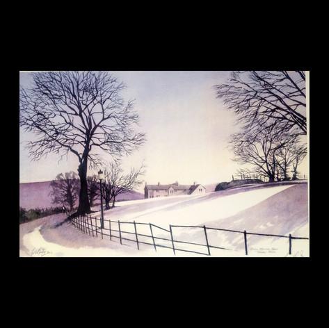 Winder Drive Under Snow