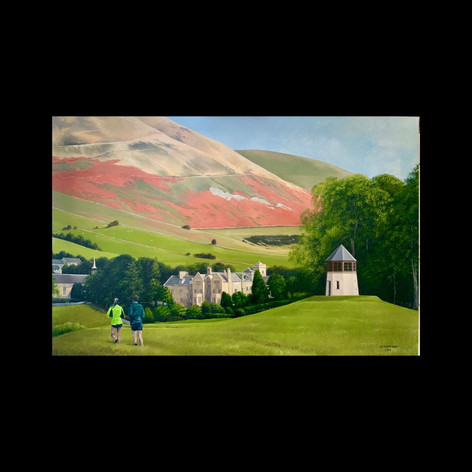School House from Pepperpot (Sedbergh)
