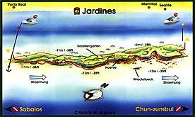 Mappa Jardines | Playa del Carmen