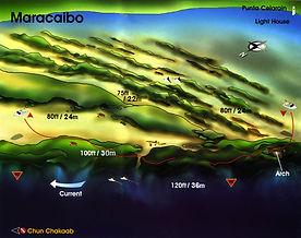 Maracaibo map Cozumel