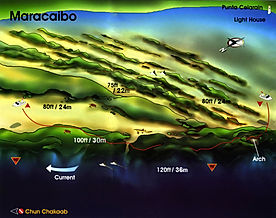 Mappa Maracaibo | Cozumel