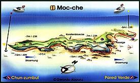 Mappa Moc-Che | Playa del Carmen