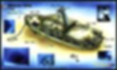 Mapa Mama Vina (barco hundido) | Playa del Carmen
