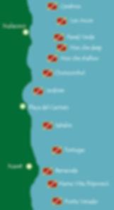 Buceos Playa del Carmen | Scuba Planet Mexico | Sitios de buceo