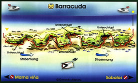 Mapa Barracuda | Playa del Carmen