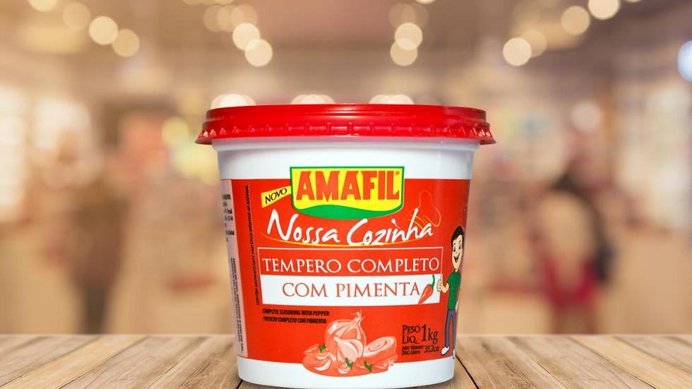 TEMPERO COMPLETO COM PIMENTA AMAFIL - 300GR