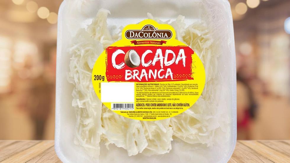 COCADA BRANCA DA COLÔNIA - 200GR