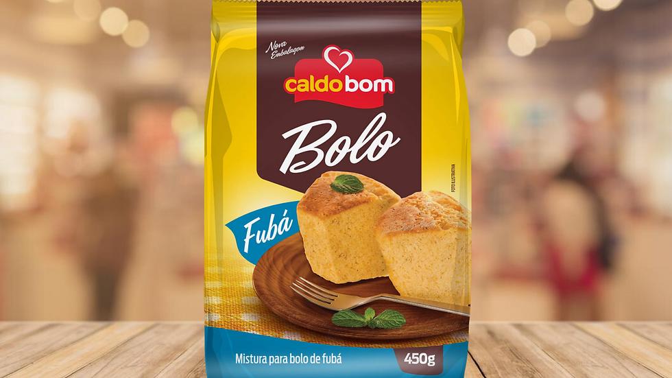 BOLO DE FUBA CALDO BOM - 450g