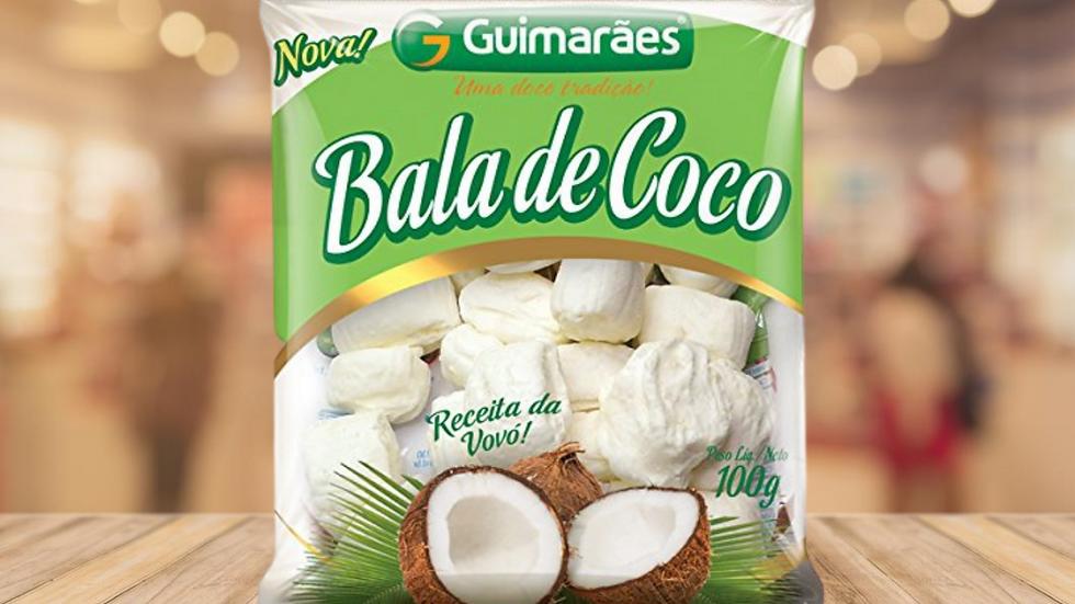 BALA DE COCO GUIMARÃES - 100GR