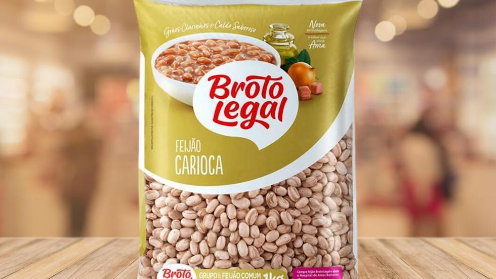 FEIJAO CARIOCA BROTO LEGAL - 1KG