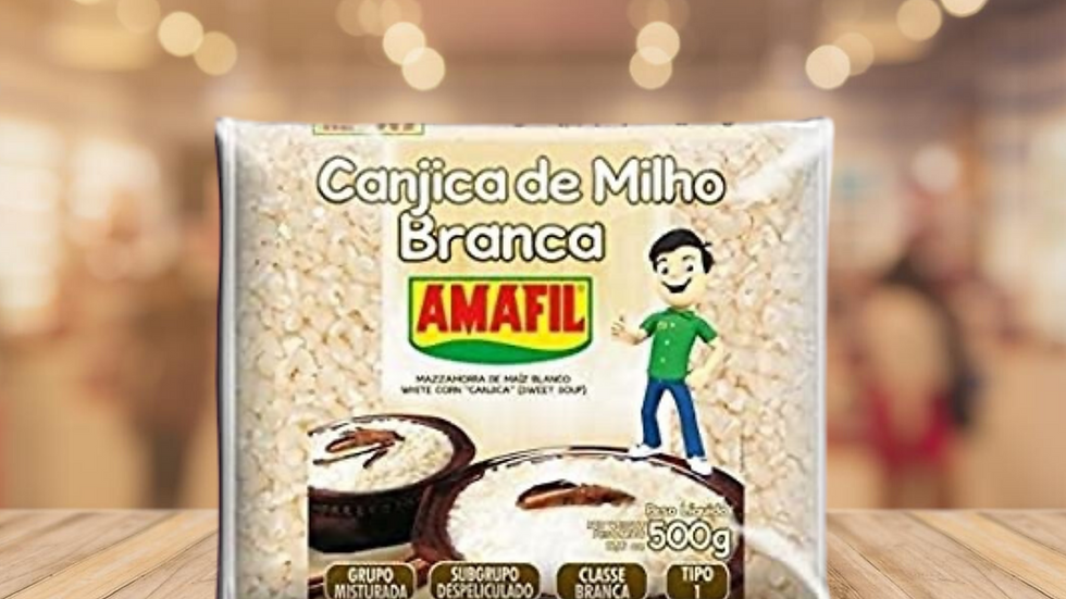 CANJICA BRANCA AMAFIL - 500g