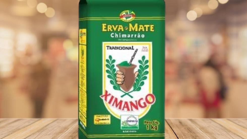 TEA ERVA MATE CHIMARAO XIMANGO - 1KG
