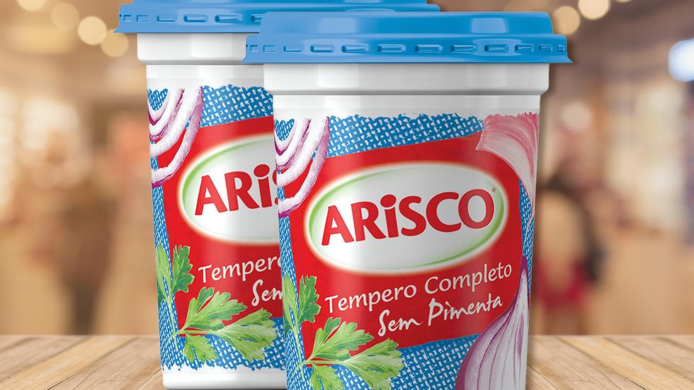 TEMPERO COMPLETO SEM PIMENTA ARISCO - 300g