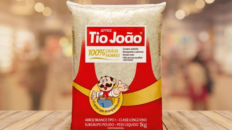 ARROZ BRANCO TIO JOAO - 1KG