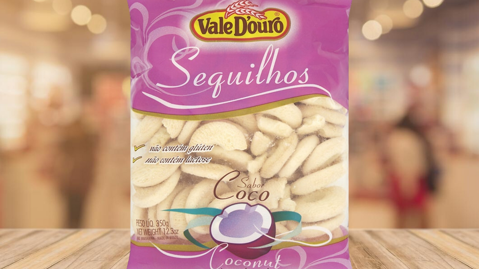 SEQUILHOS COCONUT VALE DOURADO - 350G
