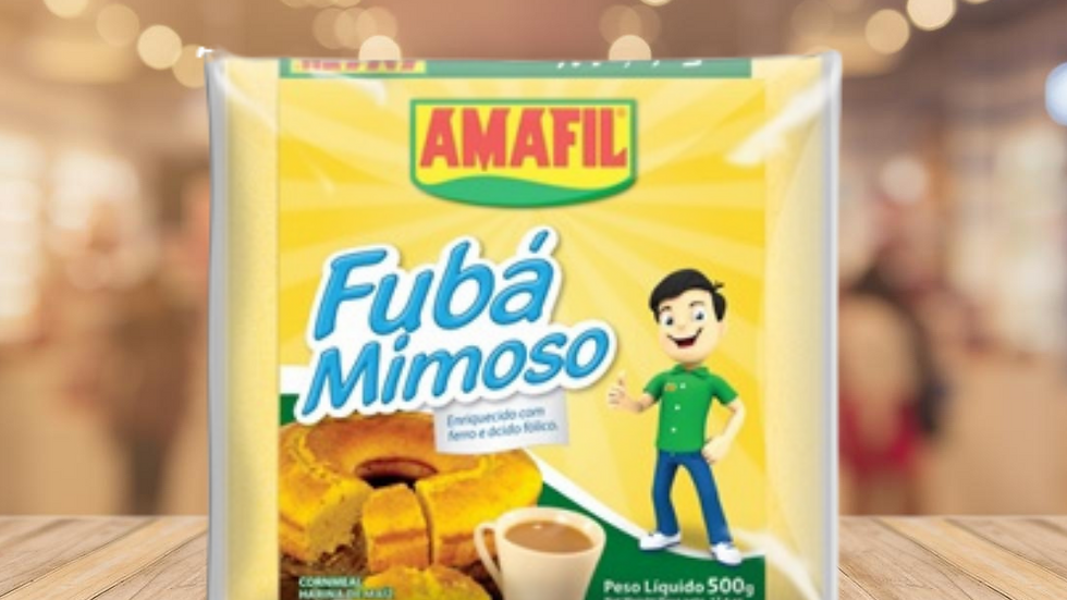 FUBÁ MIMOSO AMAFIL - 500GR