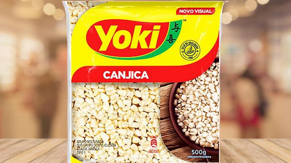 CANJICA CRISTAL (BRANCA) YOKI - 500g