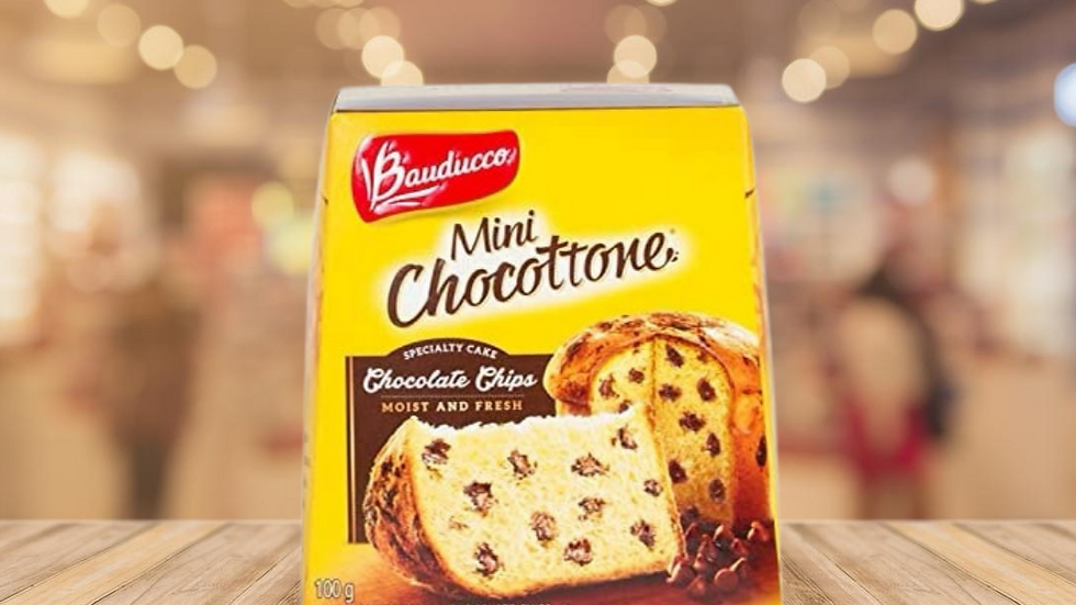MINI CHOCOTTONE BAUDUCCO - 100GR