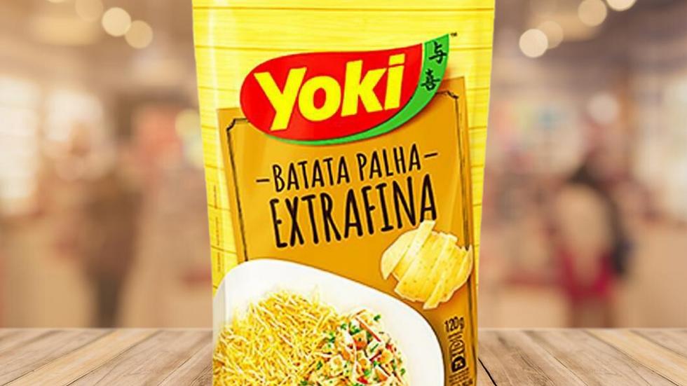 BATATA PALHA  EXTRA FINA YOKI  - 100gr